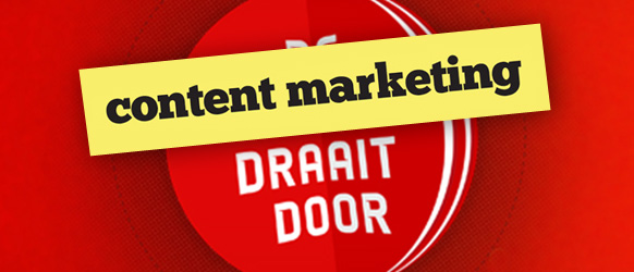 Content marketing draait door!