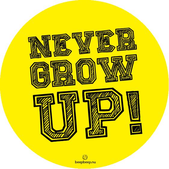 Factor Tachtig - Never grow up