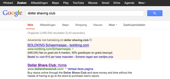Google Ad versus Organic Search - Marketing